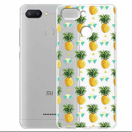 Etui na Xiaomi Redmi 6 - Ananasowe szaleństwo.