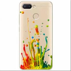 Etui na Xiaomi Redmi 6 - Kolorowy splash.