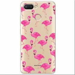 Etui na Xiaomi Redmi 6 - Różowe flamingi.