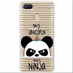 Etui na Xiaomi Redmi 6 - Ninja Unicorn - Jednorożec.
