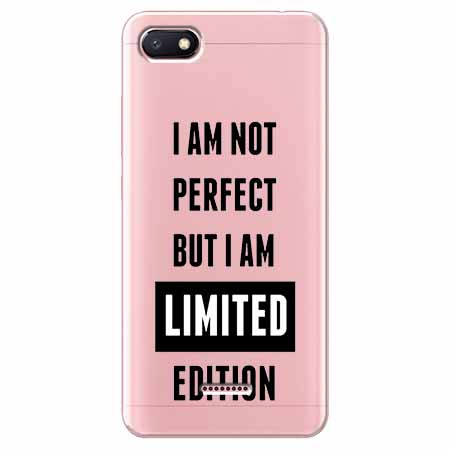 Etui na Xiaomi Redmi 6A - I Am not perfect…