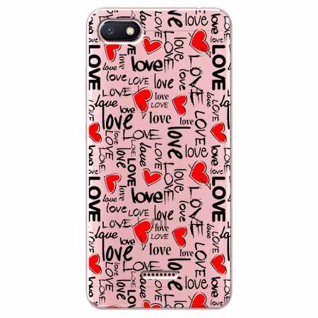 Etui na Xiaomi Redmi 6A - Love, love, love…