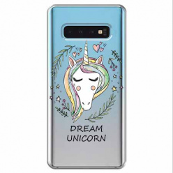 Etui na Samsung Galaxy S10 - Dream unicorn - Jednorożec.