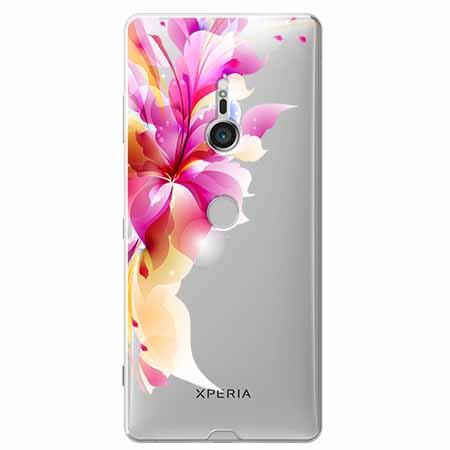 Etui na Sony Xperia XZ3 - Bajeczny kwiat.