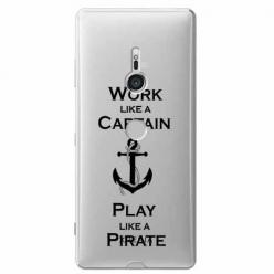 Etui na Sony Xperia XZ3 - Work like a Captain…
