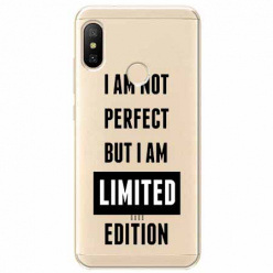 Etui na Xiaomi Mi A2 Lite - I Am not perfect…