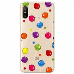 Etui na Xiaomi Mi A2 Lite - Kolorowe lizaki.