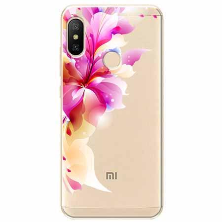 Etui na Xiaomi Mi A2 Lite - Bajeczny kwiat.