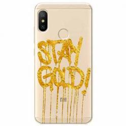 Etui na Xiaomi Mi A2 Lite - Stay Gold.