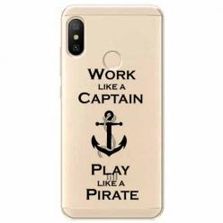 Etui na Xiaomi Mi A2 Lite - Work like a Captain…