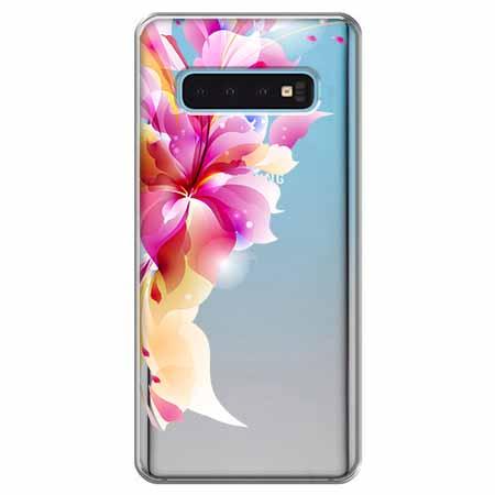 Etui na Samsung Galaxy S10 - Bajeczny kwiat.