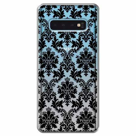 Etui na Samsung Galaxy S10 - Damaszkowa elegancja.
