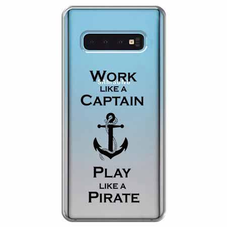 Etui na Samsung Galaxy S10 - Work like a Captain…