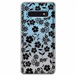 Etui na Samsung Galaxy S10 Plus - Polne stokrotki nocą.