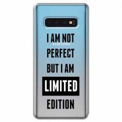 Etui na Samsung Galaxy S10 Plus - I Am not perfect…