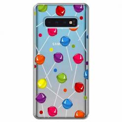 Etui na Samsung Galaxy S10 Plus - Kolorowe lizaki.
