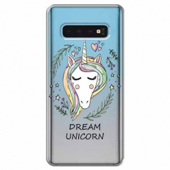 Etui na Samsung Galaxy S10 Plus - Dream unicorn - Jednorożec.