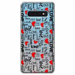 Etui na Samsung Galaxy S10 Plus - Love, love, love…