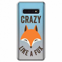 Etui na Samsung Galaxy S10 Plus - Crazy like a fox.