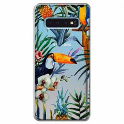 Etui na Samsung Galaxy S10 Plus - Egzotyczne tukany.