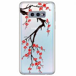 Etui na Samsung Galaxy S10e - Krzew kwitnącej wiśni.