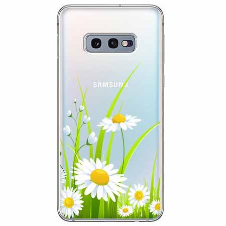 Etui na Samsung Galaxy S10e - Polne stokrotki.