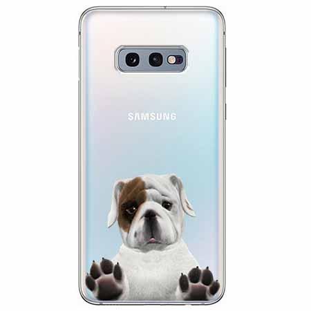 Etui na Samsung Galaxy S10e - Słodki szczeniaczek.