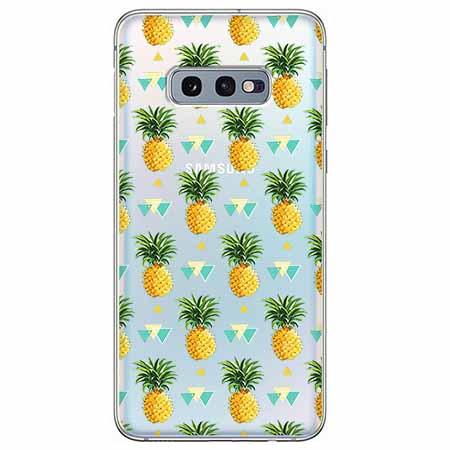 Etui na Samsung Galaxy S10e - Ananasowe szaleństwo.