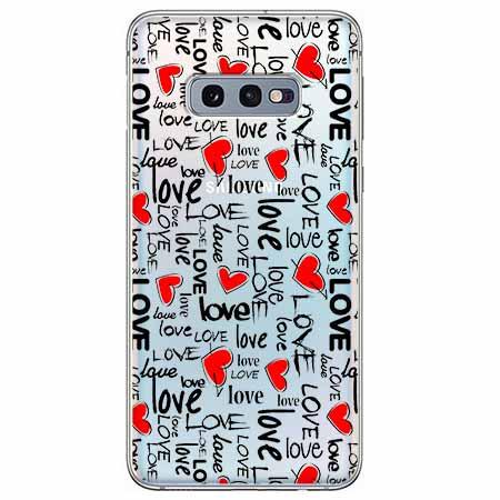 Etui na Samsung Galaxy S10e - Love, love, love…