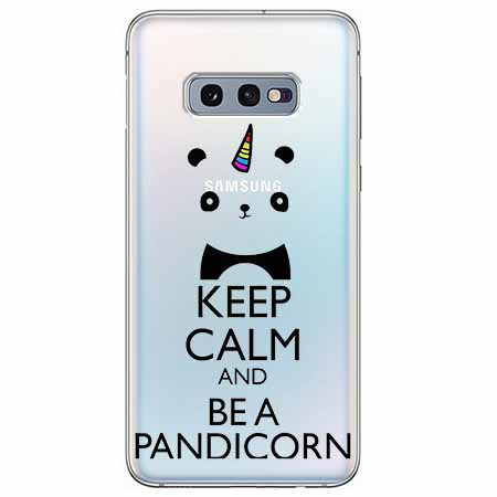 Etui na Samsung Galaxy S10e - Keep Calm… Pandicorn.