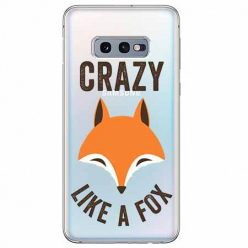Etui na Samsung Galaxy S10e - Crazy like a fox.