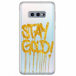 Etui na Samsung Galaxy S10e - Stay Gold.