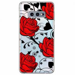 Etui na Samsung Galaxy S10e - Czerwone róże.