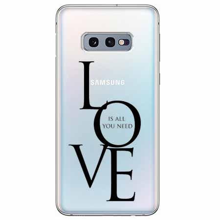 Etui na Samsung Galaxy S10e - All you need is LOVE.