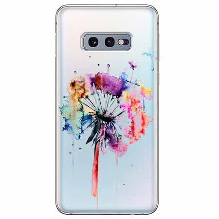Etui na Samsung Galaxy S10e - Watercolor dmuchawiec.