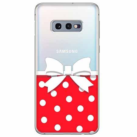 Etui na Samsung Galaxy S10e - Gustowna kokardka.