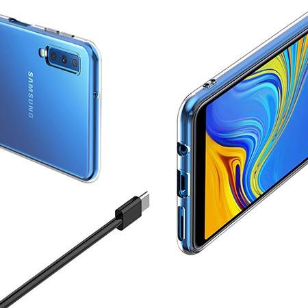 Etui na Samsung Galaxy A50 - Kolorowy splash.