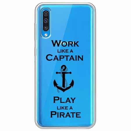 Etui na Samsung Galaxy A50 - Work like a Captain…