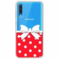 Etui na Samsung Galaxy A50 - Gustowna kokardka.