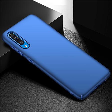 Etui na telefon Samsung Galaxy A50 - Slim MattE - Niebieski.