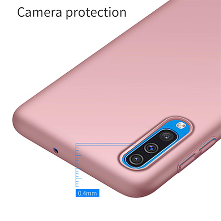 Etui na telefon Samsung Galaxy A50 - Slim MattE - Różowy.