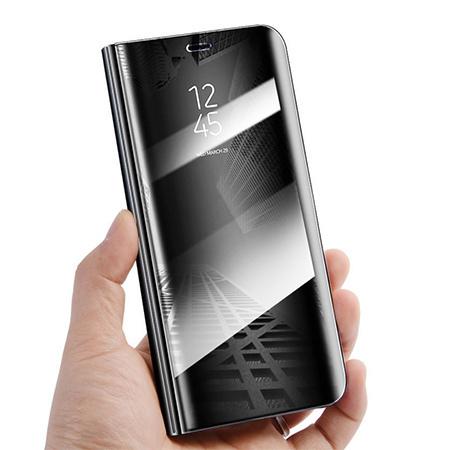 Etui na Xiaomi Mi 9 - Flip Clear View z klapką - Czarny.