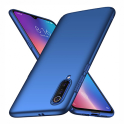 Etui na telefon Xiaomi Mi 9 - Slim MattE - Niebieski.