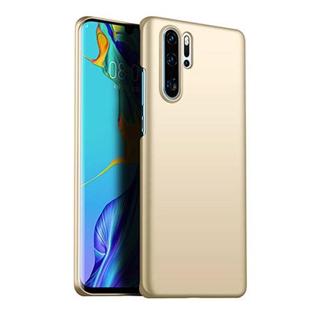 Etui na telefon Huawei P30 Pro - Slim MattE - Złoty.