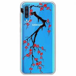 Etui na Samsung Galaxy A70 - Krzew kwitnącej wiśni.