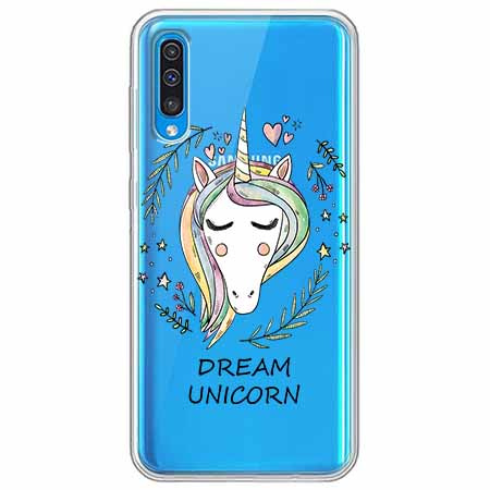 Etui na Samsung Galaxy A70 - Dream unicorn - Jednorożec.