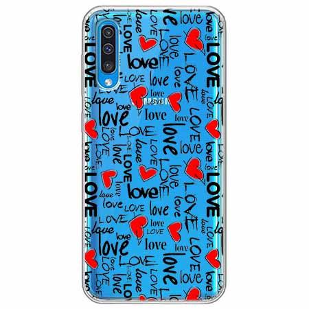Etui na Samsung Galaxy A70 - Love, love, love…