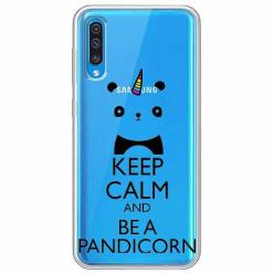 Etui na Samsung Galaxy A70 - Keep Calm… Pandicorn.