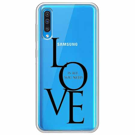 Etui na Samsung Galaxy A70 - All you need is LOVE.