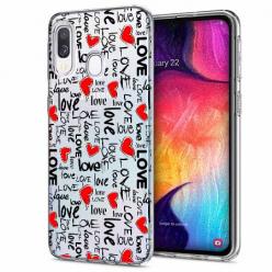 Etui na Samsung Galaxy A40 - Love, love, love…